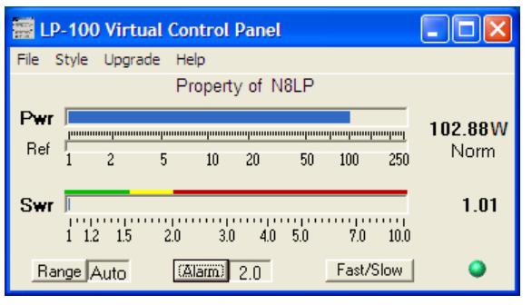 Monitoring SWR/PWR via Computer