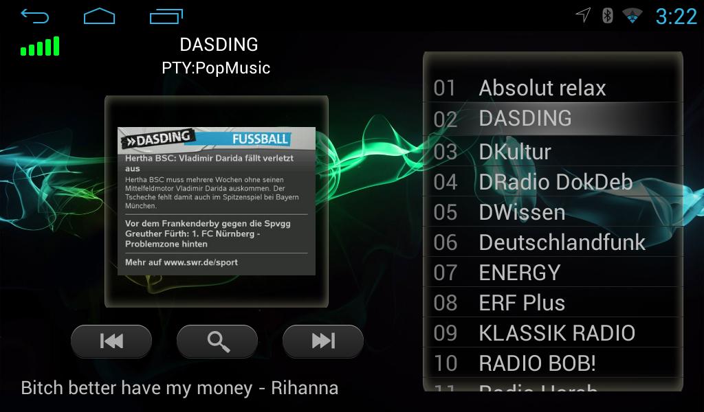 Android AUTORADIO für VW T5 Seat Skoda Golf GPS MP3 DVD Android USB ...