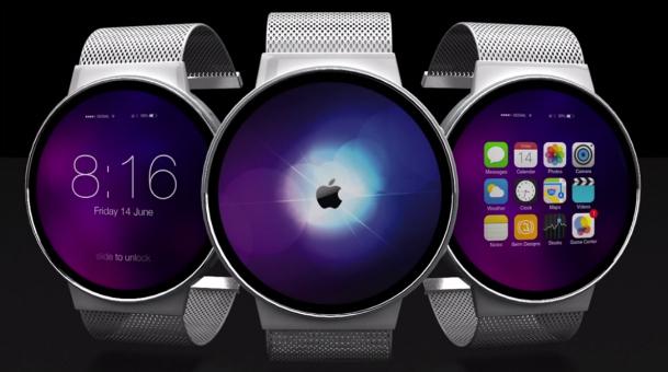 Apple round shape watches