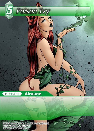 Monster Girl Collectible Card Profiles: Villainesses! - Page 2 Poison_Ivy