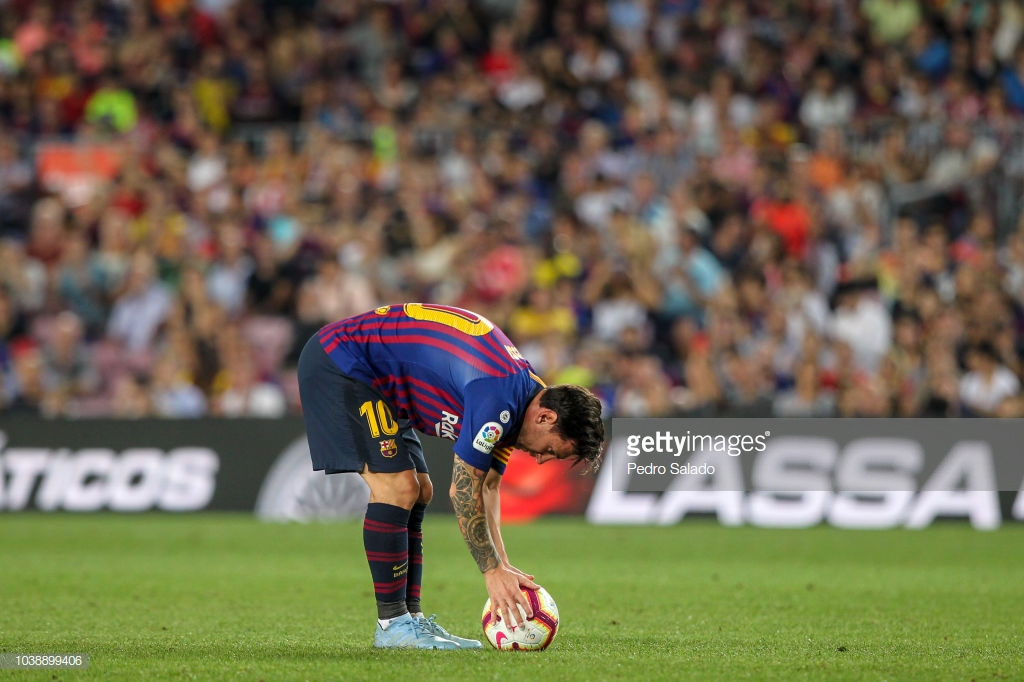 صور مباراة : برشلونة - جيرونا 2-2 ( 23-09-2018 )  U