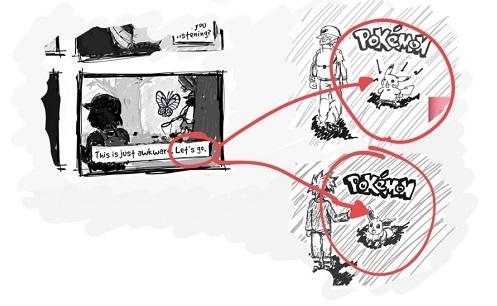 Resultado de imagen para pokemon lets go pikachu leak