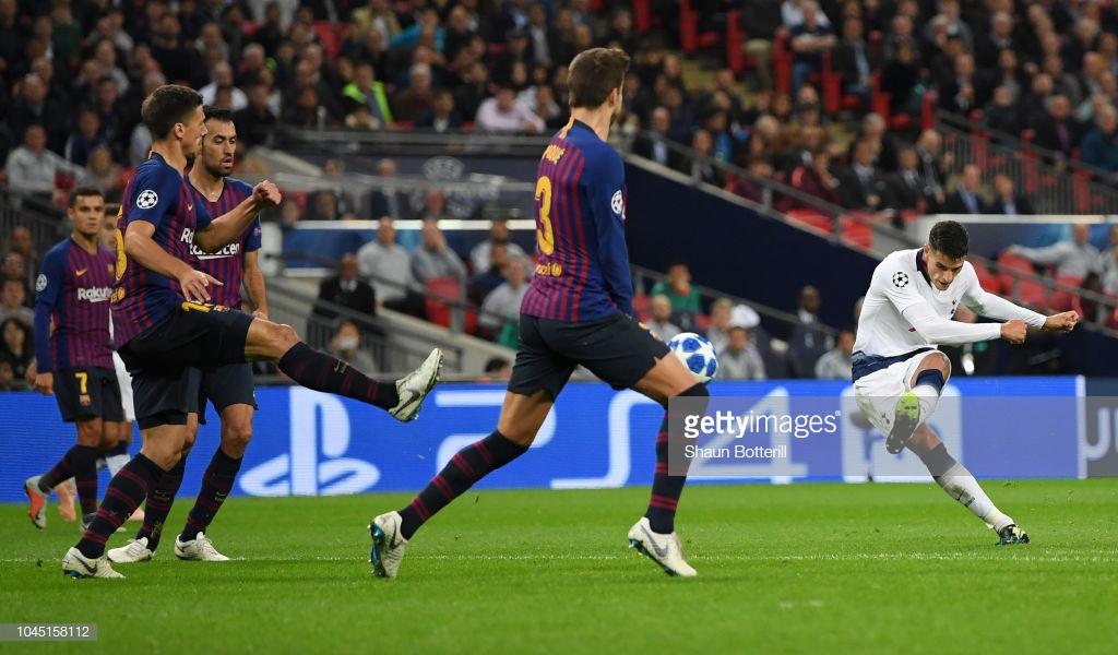 صور مباراة : توتنهام - برشلونة 2-4 ( 03-10-2018 )  T2