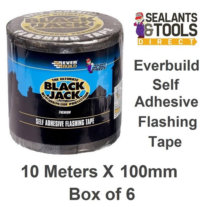 Everbuild Flashing Tape 10m x 100mm Box of 6