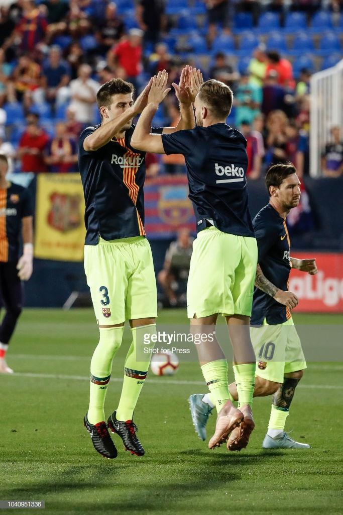 صور مباراة : ليغانيس - برشلونة 2-1 ( 26-09-2018 ) Y