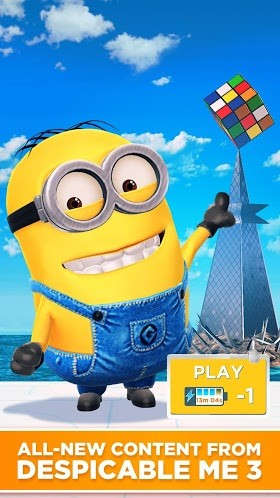 Despicable Me: Minion Rush 4.8.1a (Mod) Apk + Data