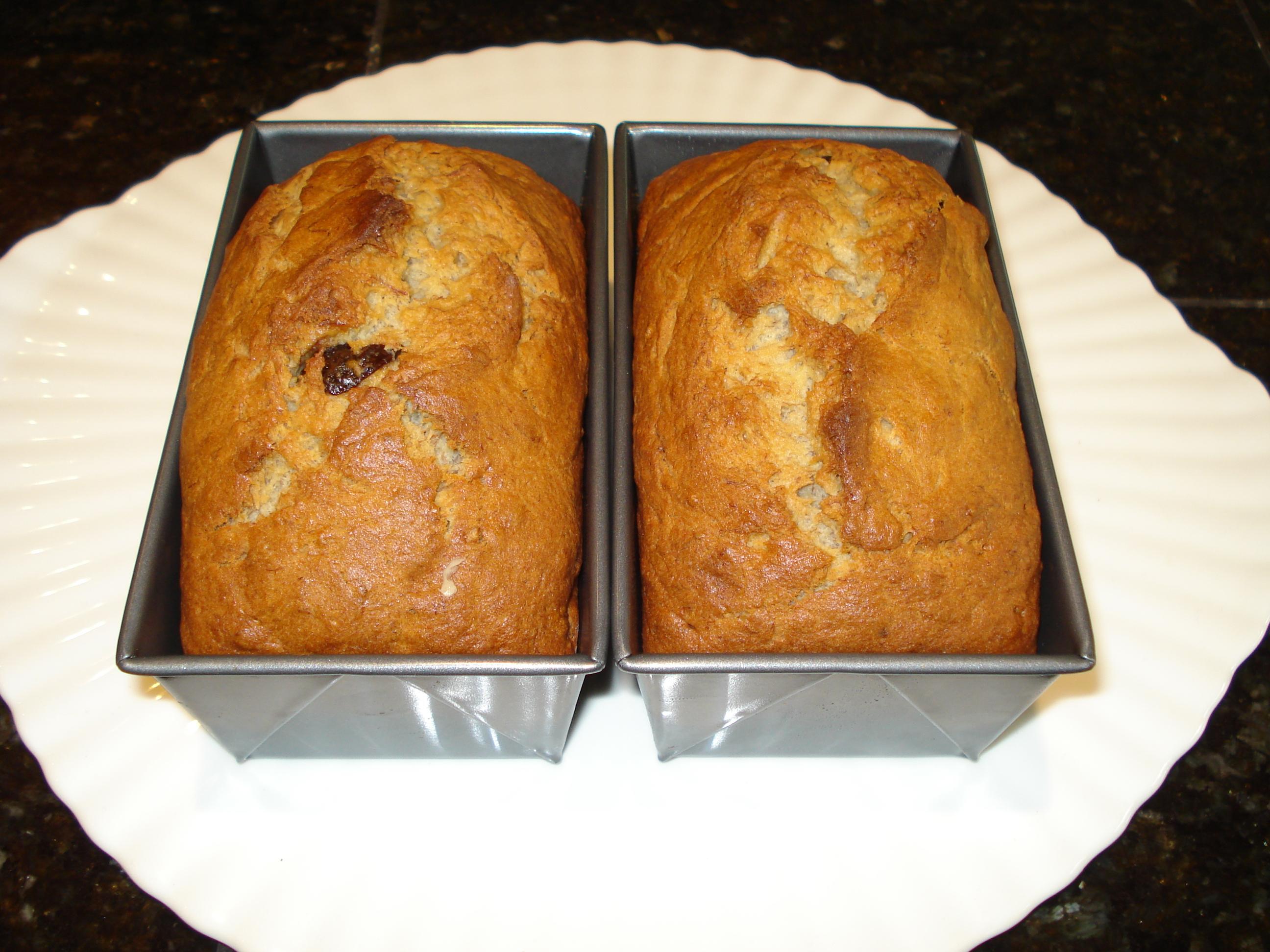 Bánh mì chuối thực hiện trong 10 phút DSC06825