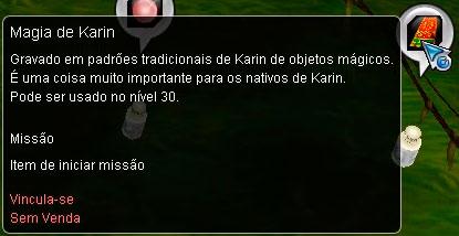 Item Magia de Karin