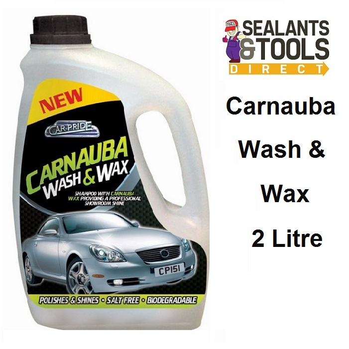 carpride Wash & Wax Shampoo 2 Litre