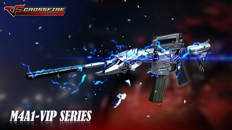 Crossfire Legends - Bình chọn M4A1 Vip đẹp nhất!
