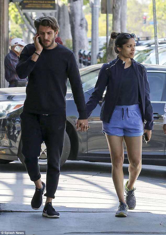 Freida Pinto spotted with her hot BF Cory Tran | 4979300 ...