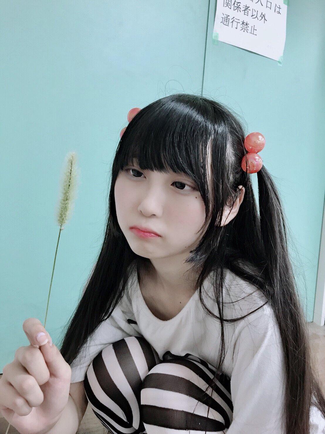 高嶺ヒナ 双马尾 黑长直 美少女003