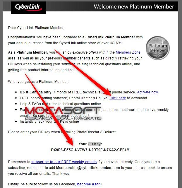 cyberlink photodirector 8 deluxe key