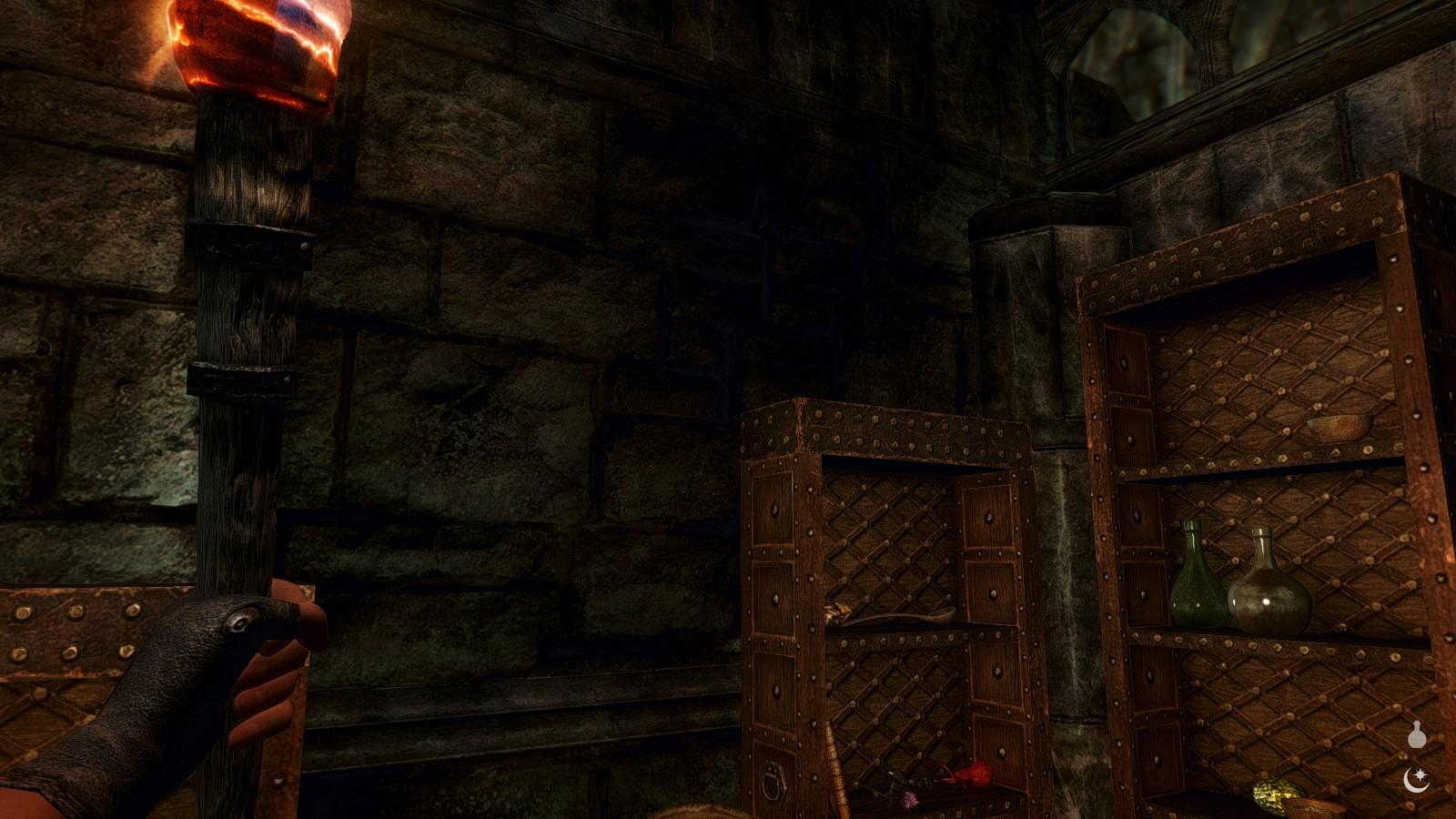 Dark areas have weird contrast [enb] - Skyrim Technical Support