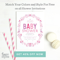 Basic Invite Baby Shower Ad