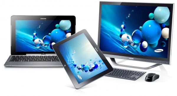 tablets and laptops