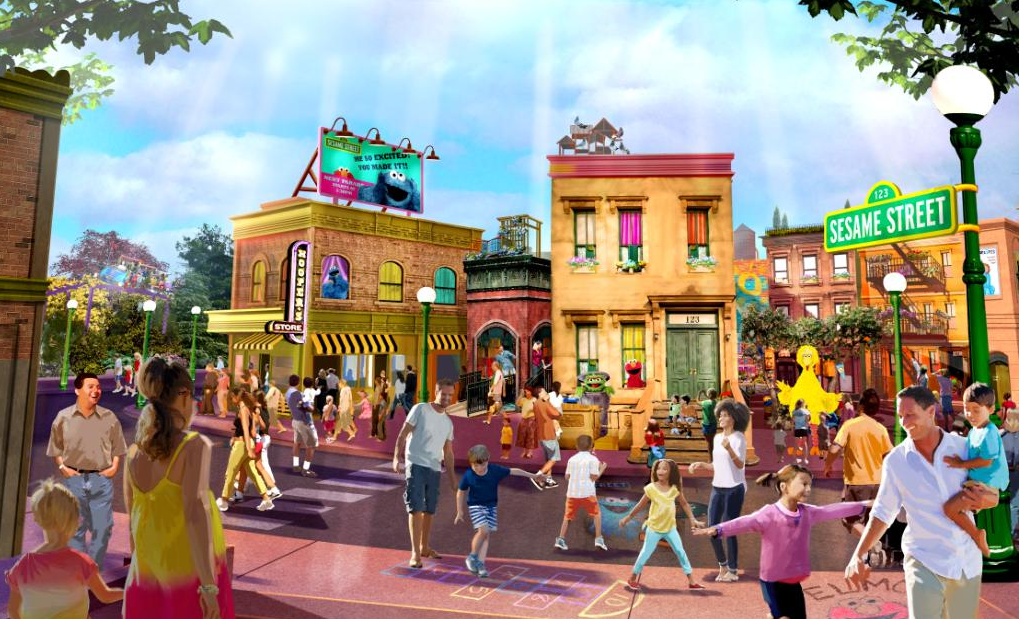 New Orlando Attractions Sesame Street Land