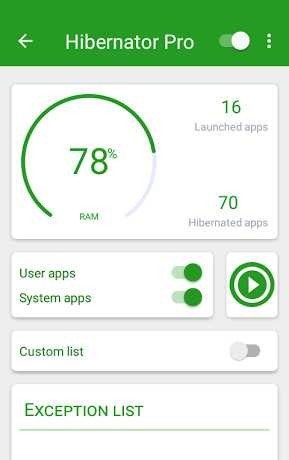 Hibernator PRO: Hibernate running apps & save battery 2.2.1 APK
