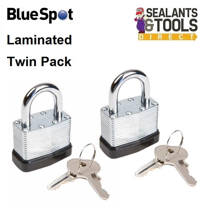 Blue Spot Laminated Steel Padlock 40mm 77014