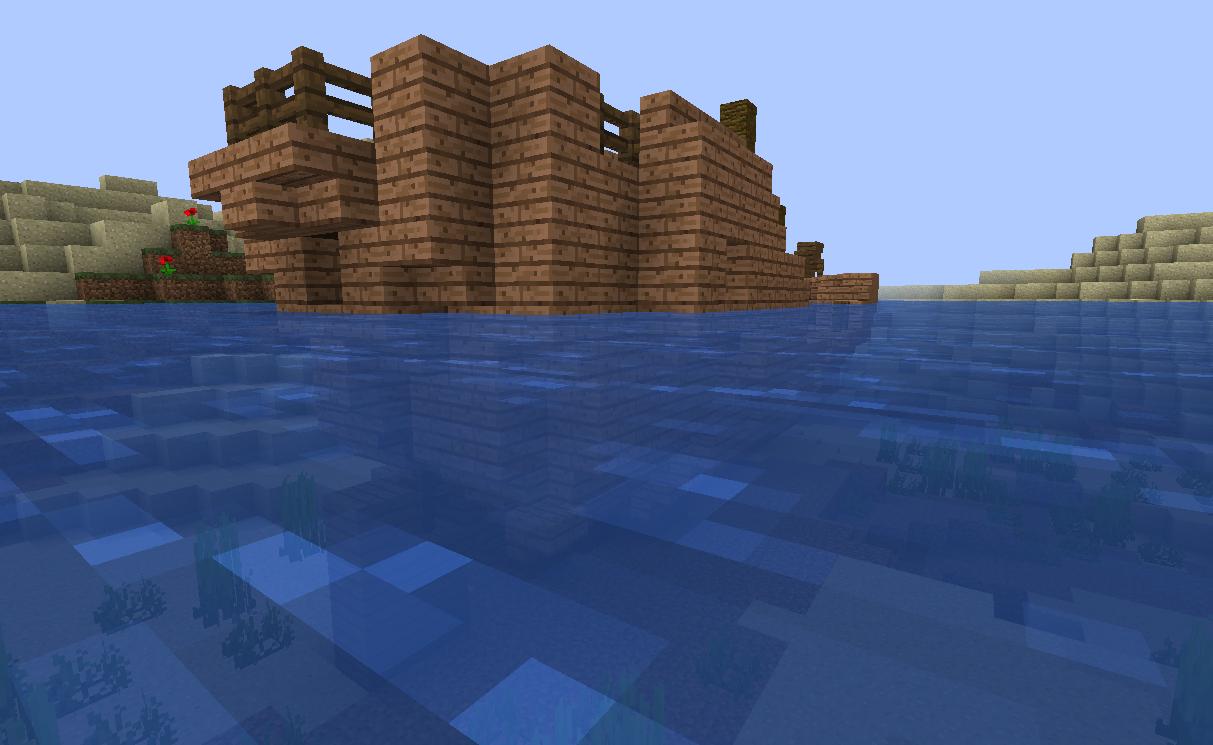 Shipwreck wrecking it