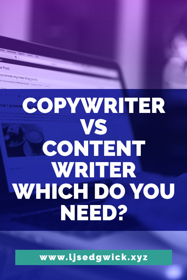 Do you need a copywriter or a content writer? Learn the differences between the two here before you hire your next freelance writer.