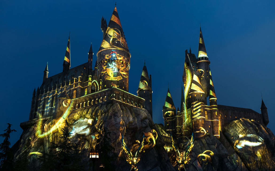 Hogwarts Projection Show
