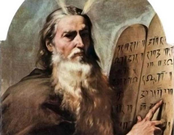 Moses and the tablets of law 0