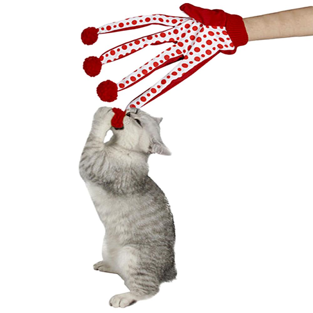 toy cat pet scratch glove activity play design your kitten mitt