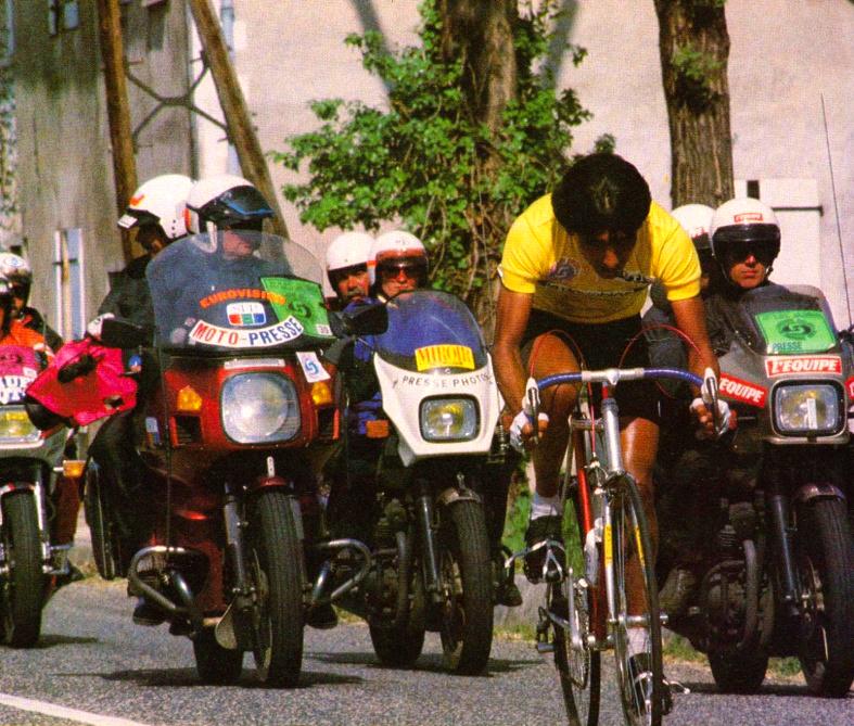 Martín Ramírez y la Dauphiné Liberé 1984 Dauphine_84