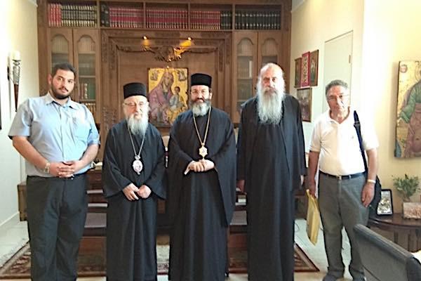 Επίσκεψη στο Μεσολόγγι από το γραφείο προσκυνηματικών περιηγήσεων της Εκκλησίας της Κύπρου