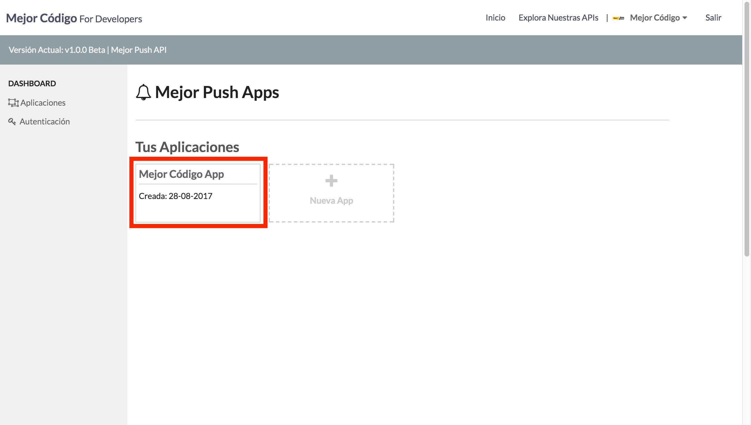 Mejor Push API