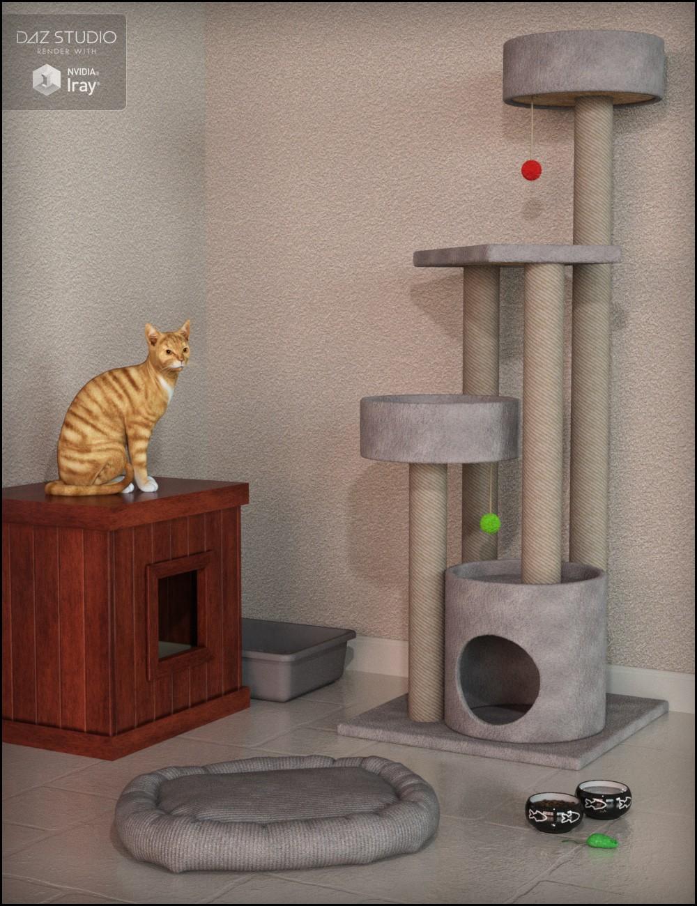 Kitty Treats Cat Props