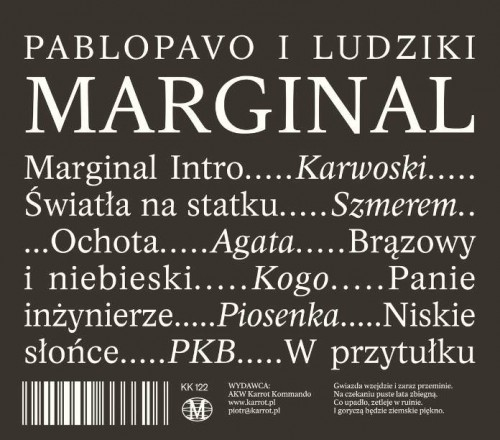 Pablopavo i Ludziki - Marginal (2018)