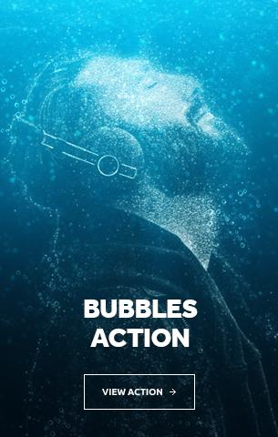 Bubbles Photoshop Action