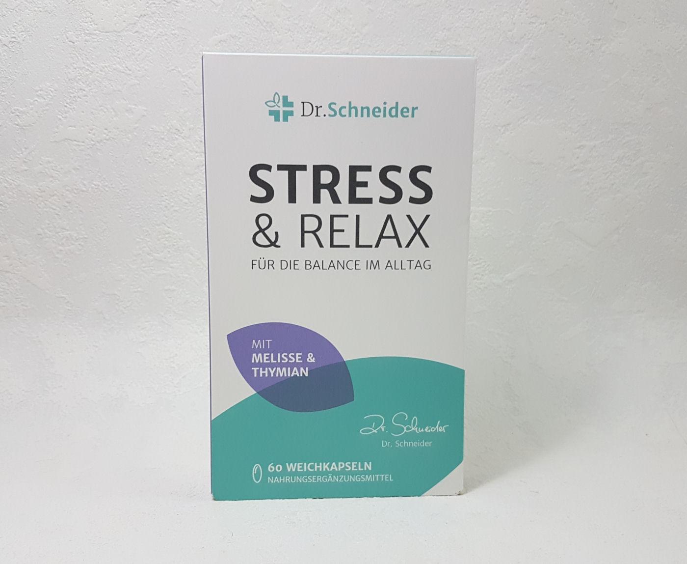Dr. Schneider Stress & Relax für Balance im Alltag - Project: Test It!