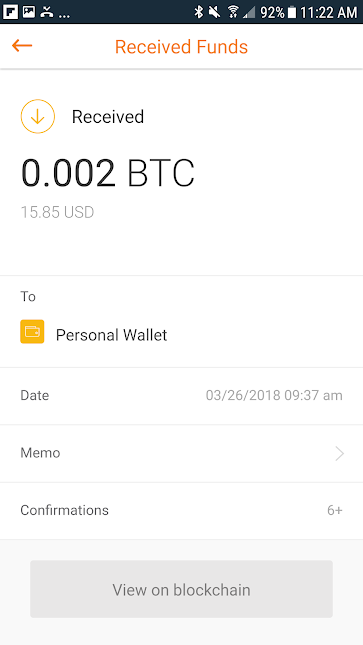 Coinpal payment received