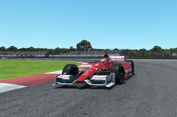Дмитрий Букша победитель первой гонки сезона VRC Indycar 2018