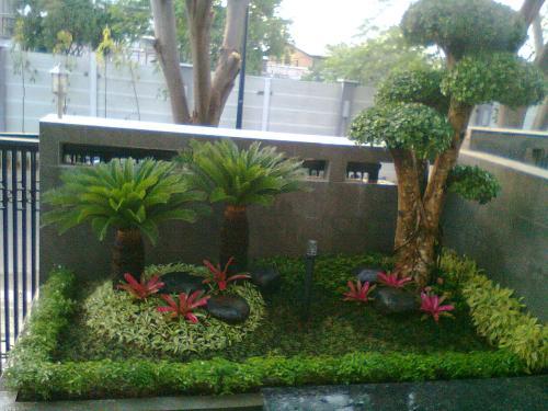 Taman minimalis di bandung