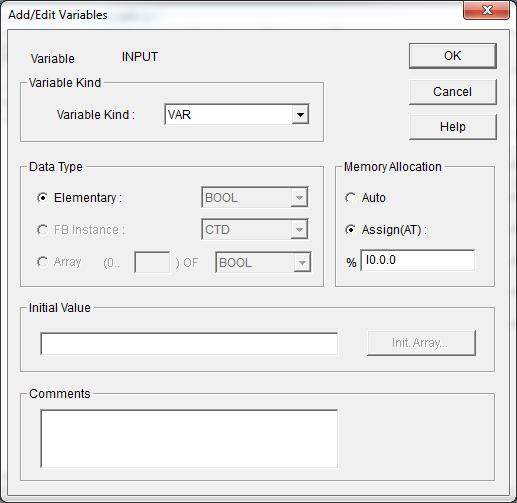Membuat Program Input Output Menggunakan PLC dan GMWIN