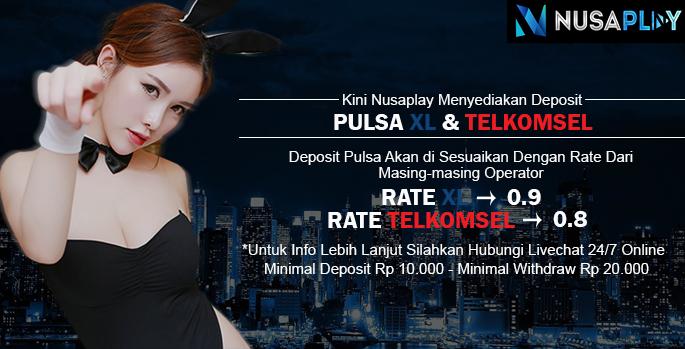 Deposit Via Pulsa