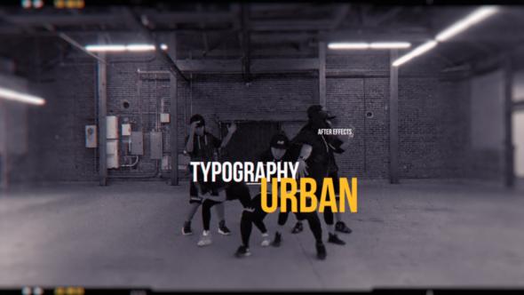 Videohive Urban Opener 21091341