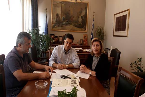Ανέγερση 3ου κτιρίου για το εργαστήρι 'Παναγία Ελεούσα' στο Αγρίνιο