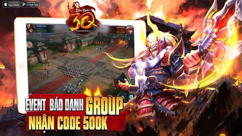 Liên Quân 3Q - game công thành Tam Quốc ra mắt game thủ Việt trong tháng 12