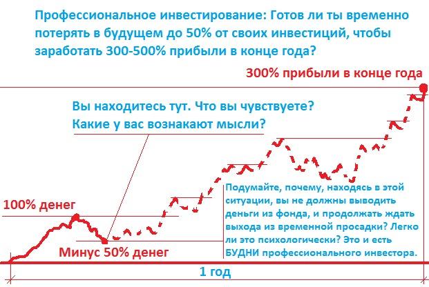 График инвестирования для профессионалов
