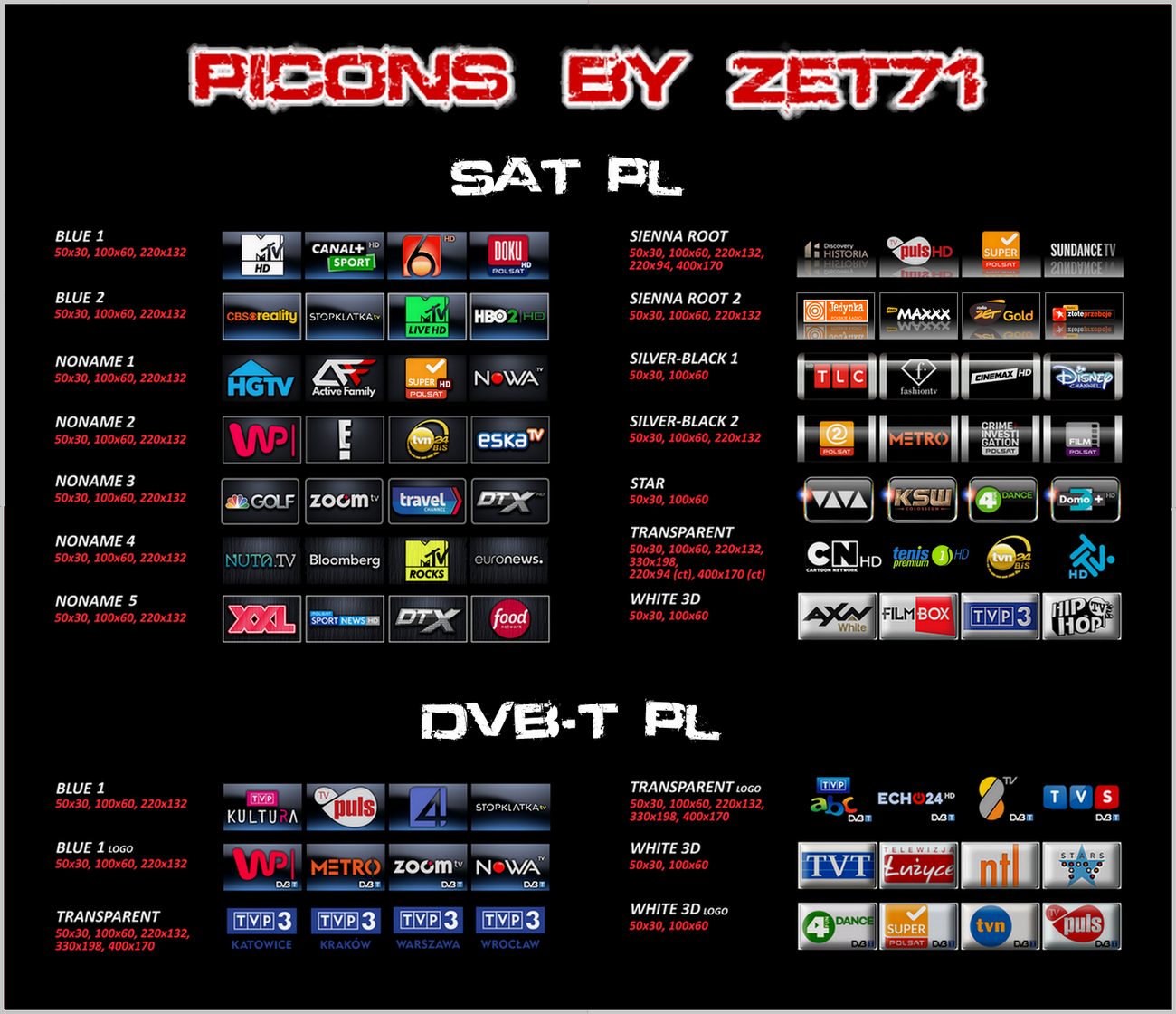 Picons by ZET71