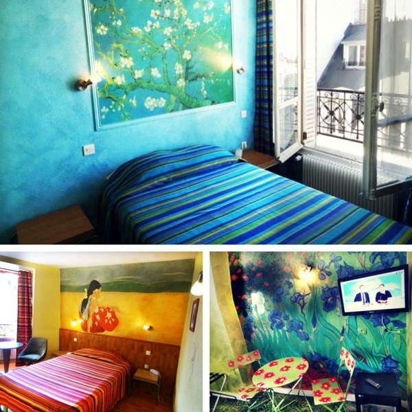 Los Mejores Hoteles Baratos de París - conpasaporte.com - Adonis Sacré Coeur Hotel Roma