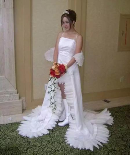 El vestido de novia mas feo del mundo
