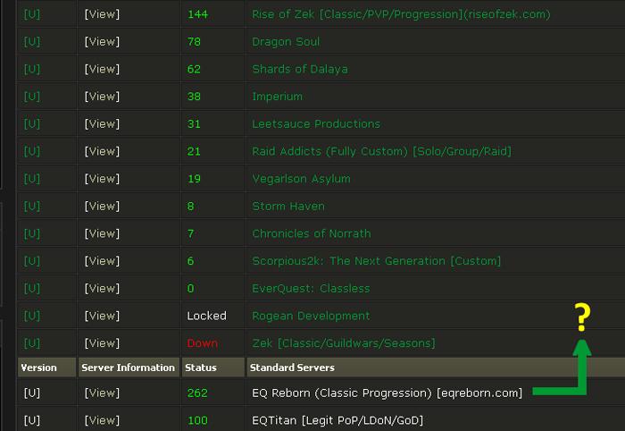 EQ Reborn - EQEmulator Forums