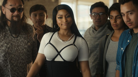 A Fun Promo For MADDEN NFL 19 Sees Nicki Minaj, Chris Redd And More Stars Get Swept Up In The Action