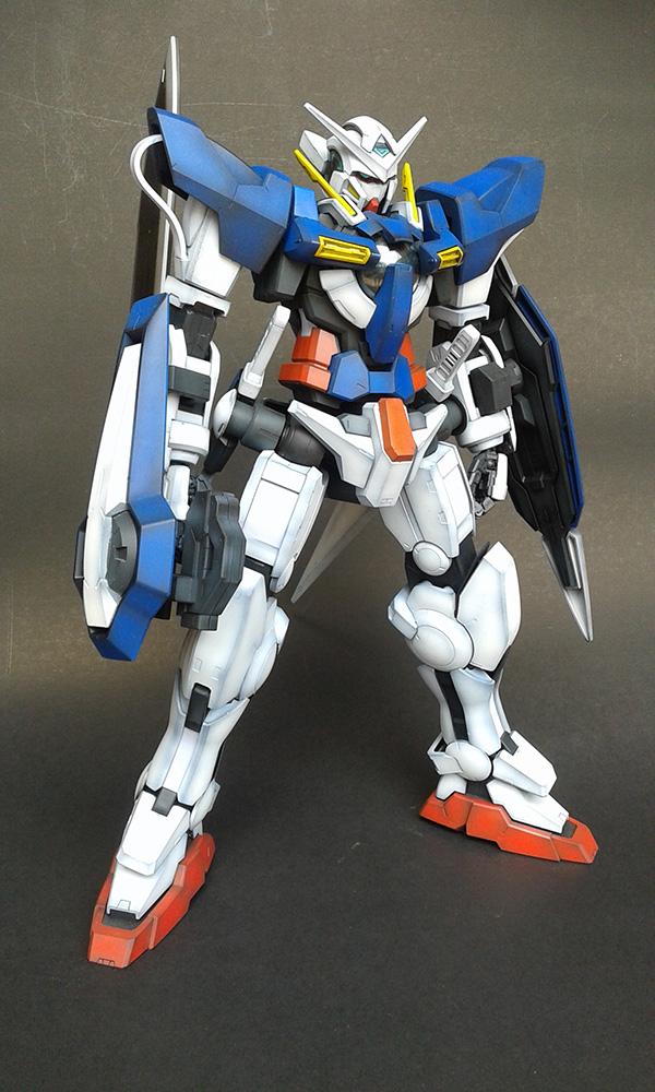 Gundam Exia 1/60  โดย gon pumjorn